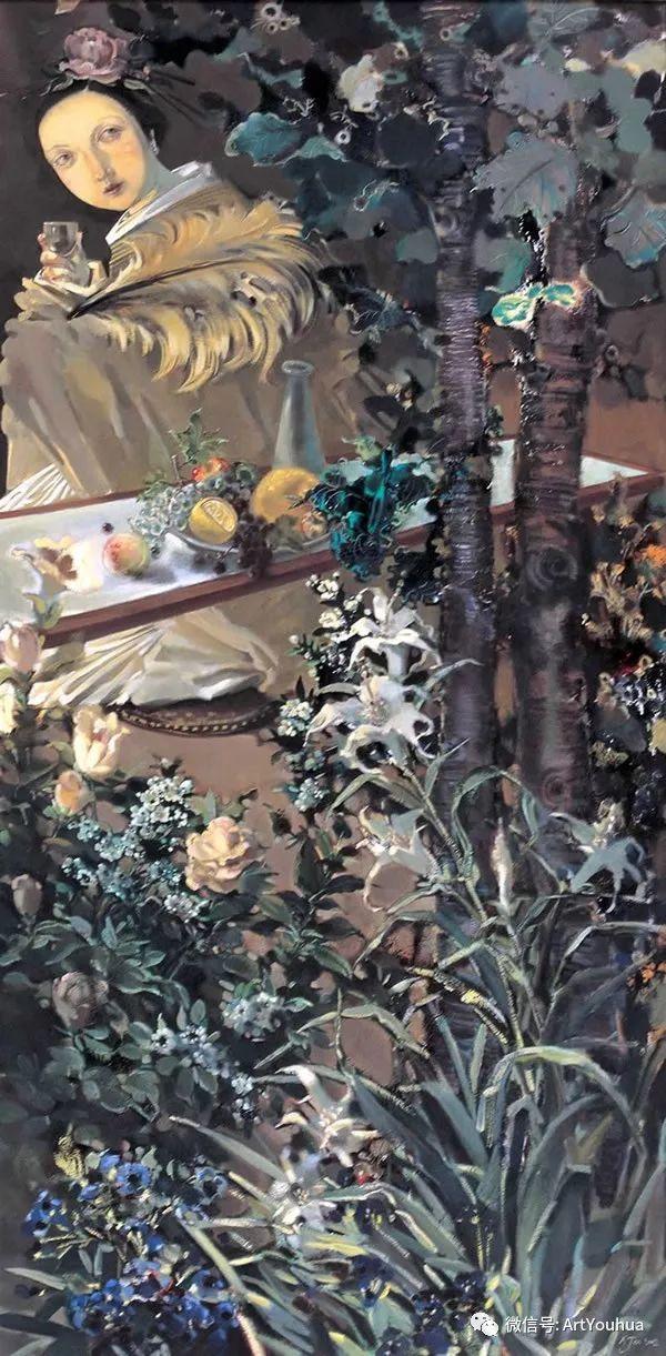 一位才华横溢的女画家夏俊娜插图33