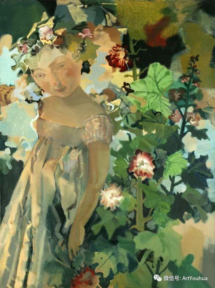 一位才华横溢的女画家夏俊娜插图47