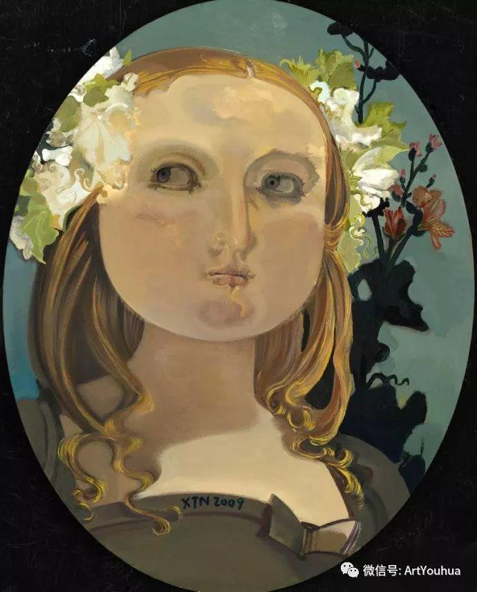 一位才华横溢的女画家夏俊娜插图61
