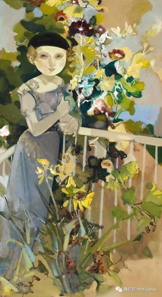 一位才华横溢的女画家夏俊娜插图63