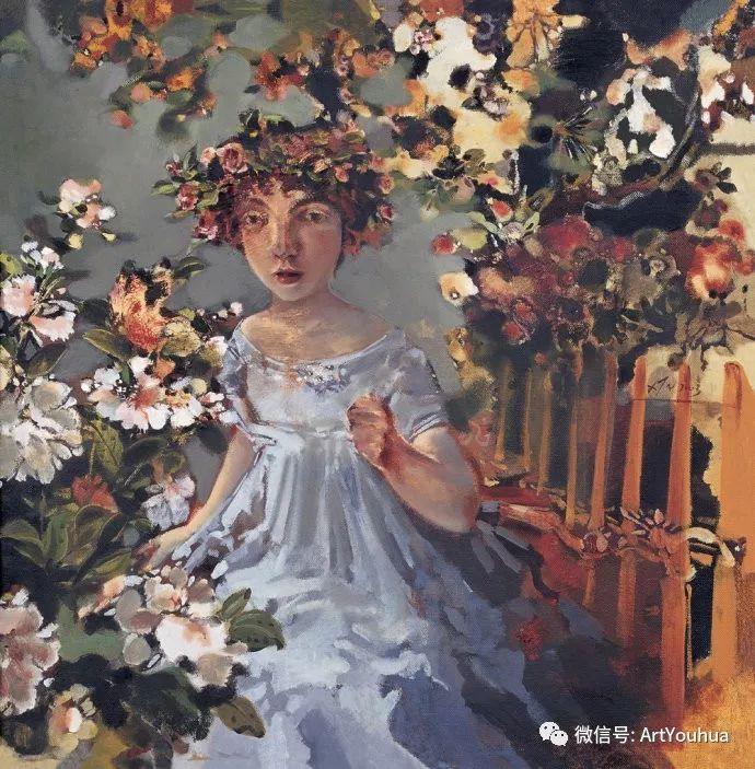 一位才华横溢的女画家夏俊娜插图73