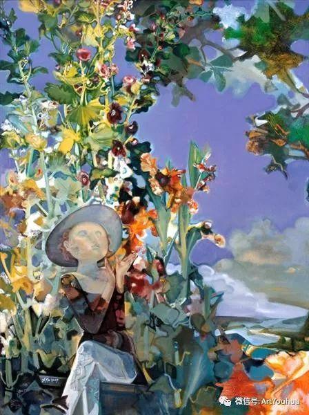 一位才华横溢的女画家夏俊娜插图77