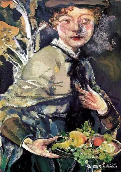 一位才华横溢的女画家夏俊娜插图81