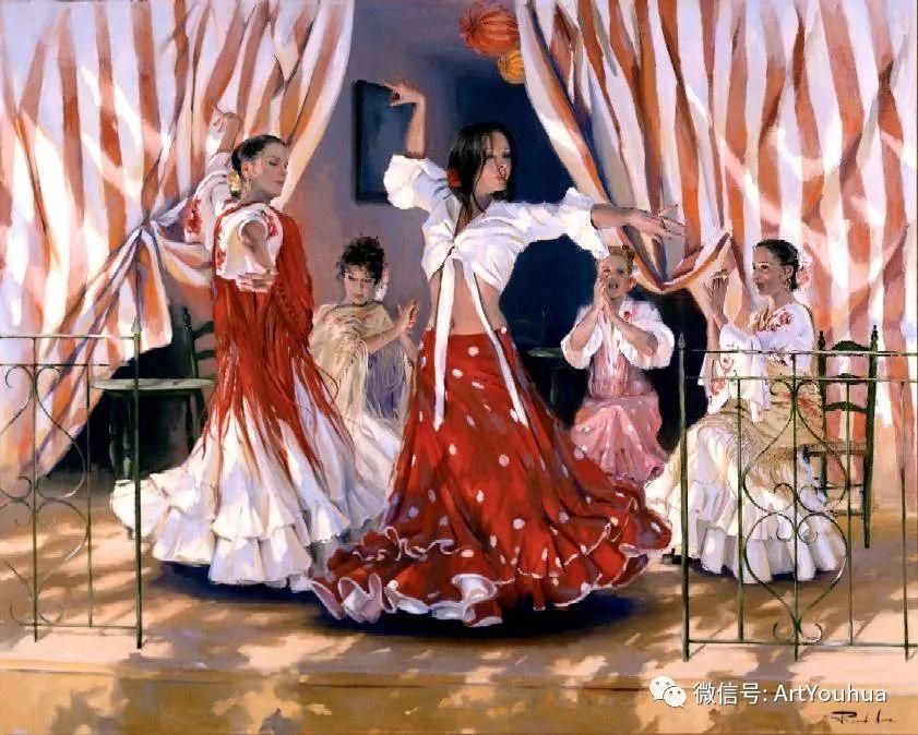 西班牙画家Ricardo Sanz作品欣赏插图7