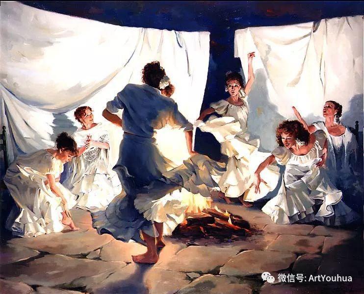 西班牙画家Ricardo Sanz作品欣赏插图11