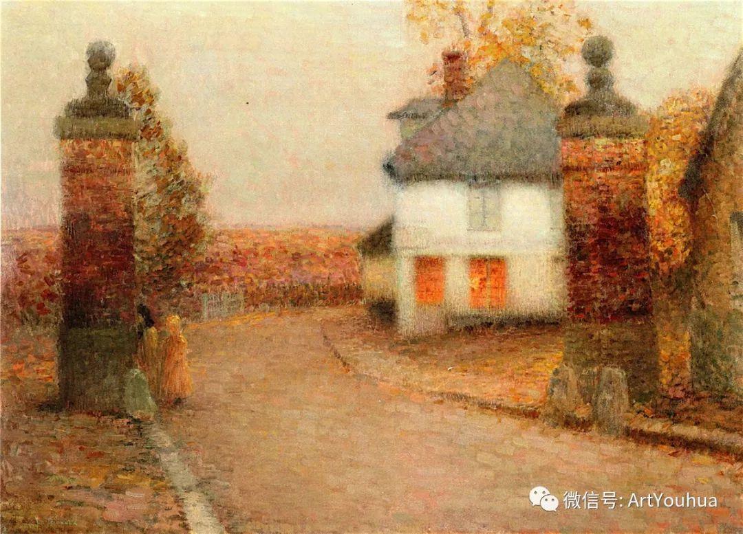 他以印象派手法描绘安静街角和花园而闻名插图1