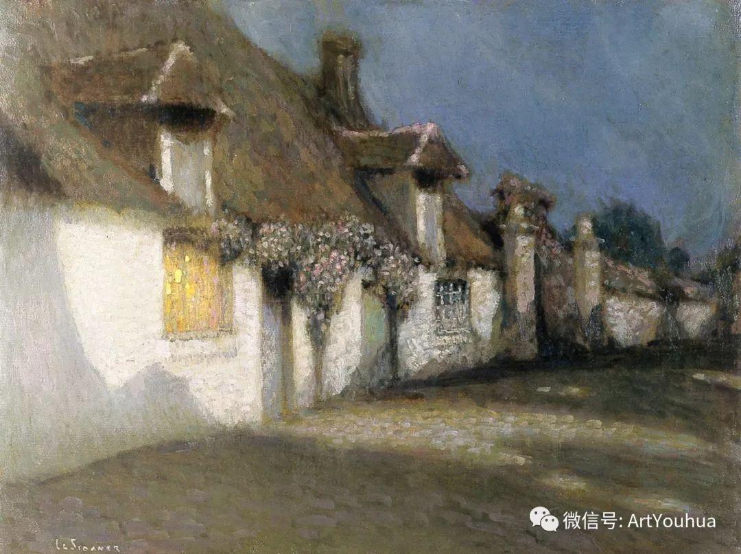 他以印象派手法描绘安静街角和花园而闻名插图4