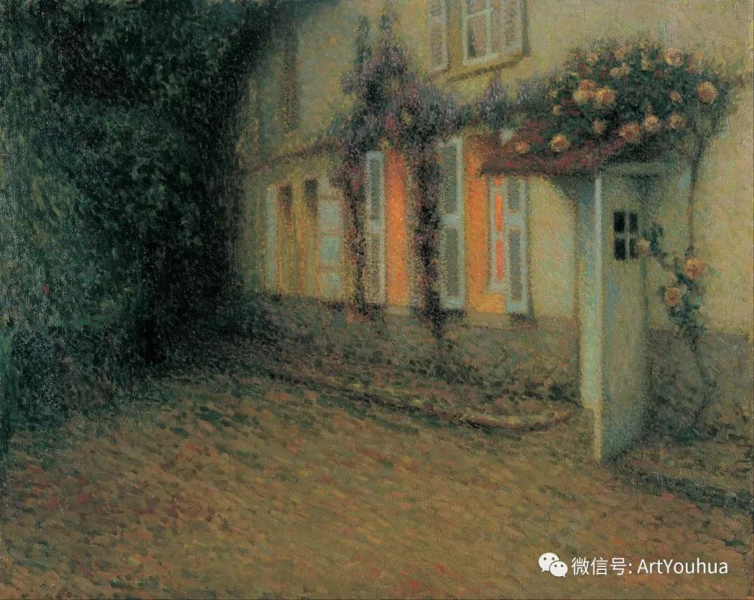 他以印象派手法描绘安静街角和花园而闻名插图7