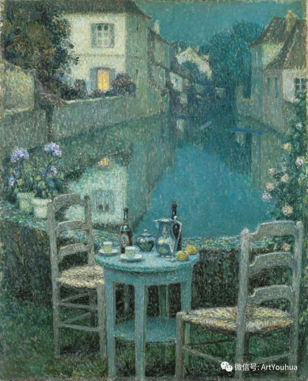 他以印象派手法描绘安静街角和花园而闻名插图8
