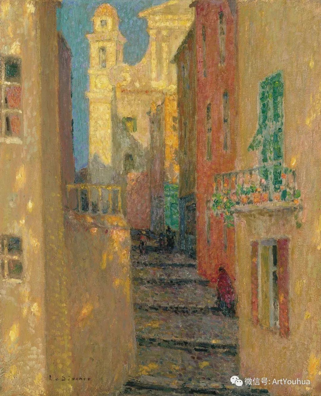 他以印象派手法描绘安静街角和花园而闻名插图11