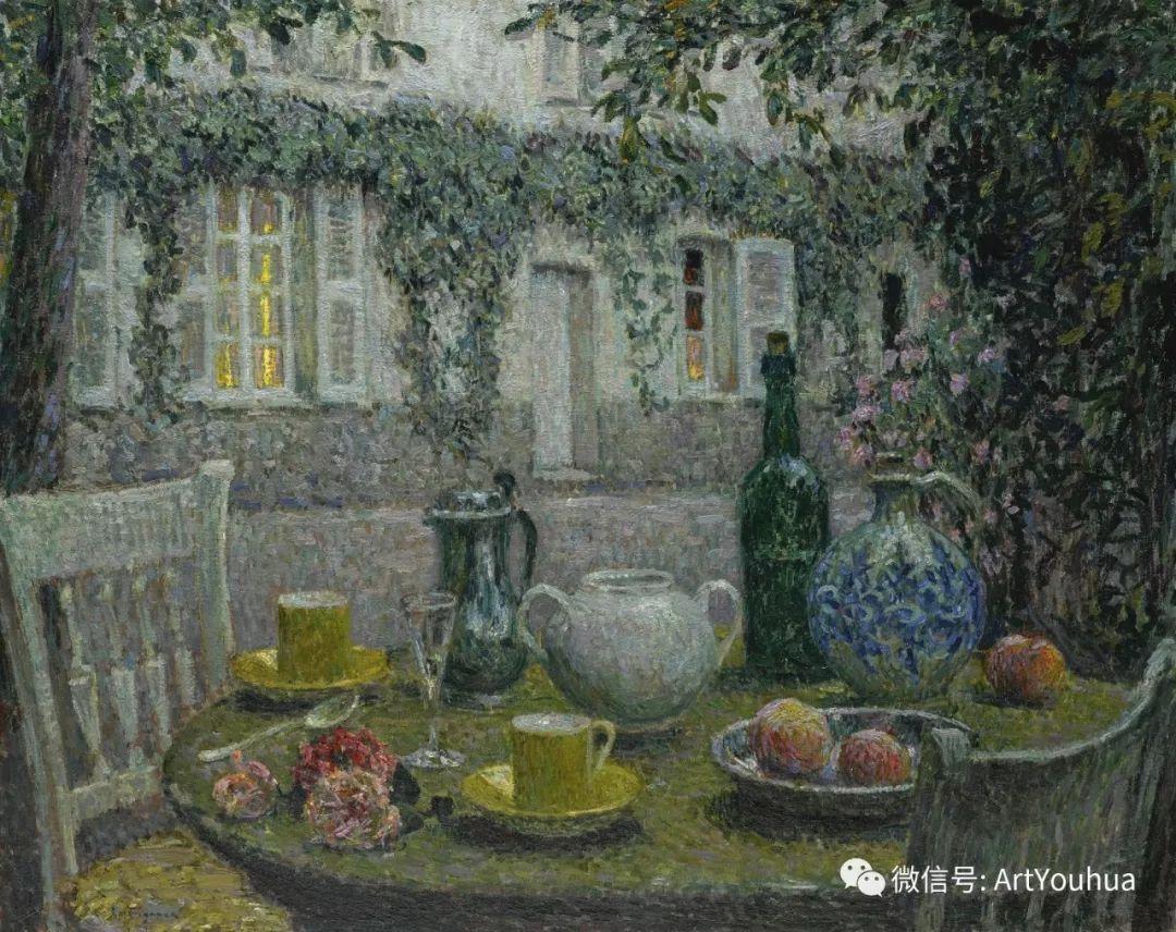 他以印象派手法描绘安静街角和花园而闻名插图13