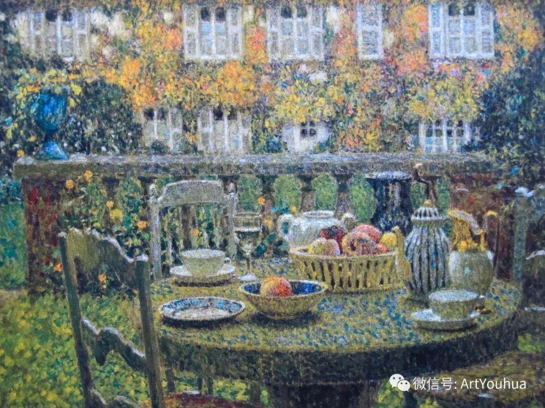 他以印象派手法描绘安静街角和花园而闻名插图14