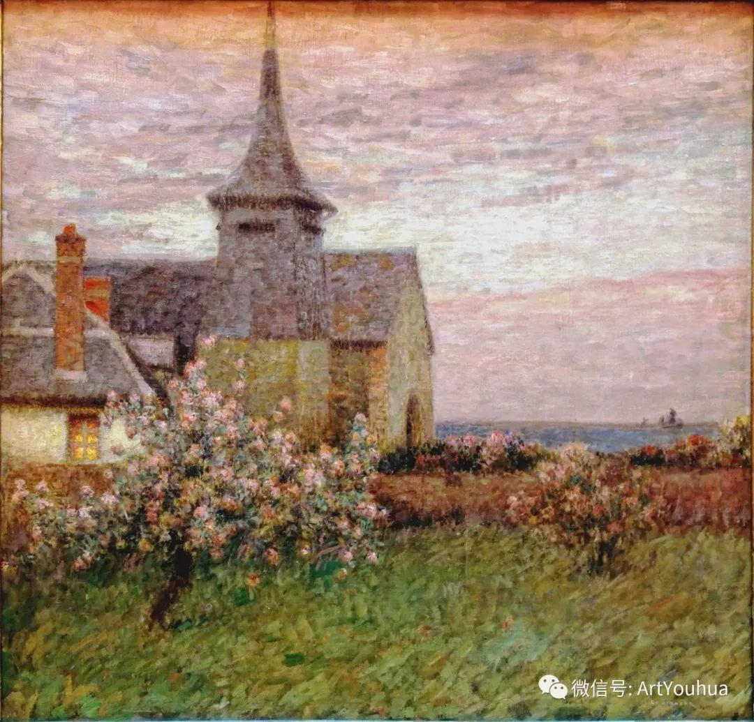他以印象派手法描绘安静街角和花园而闻名插图16