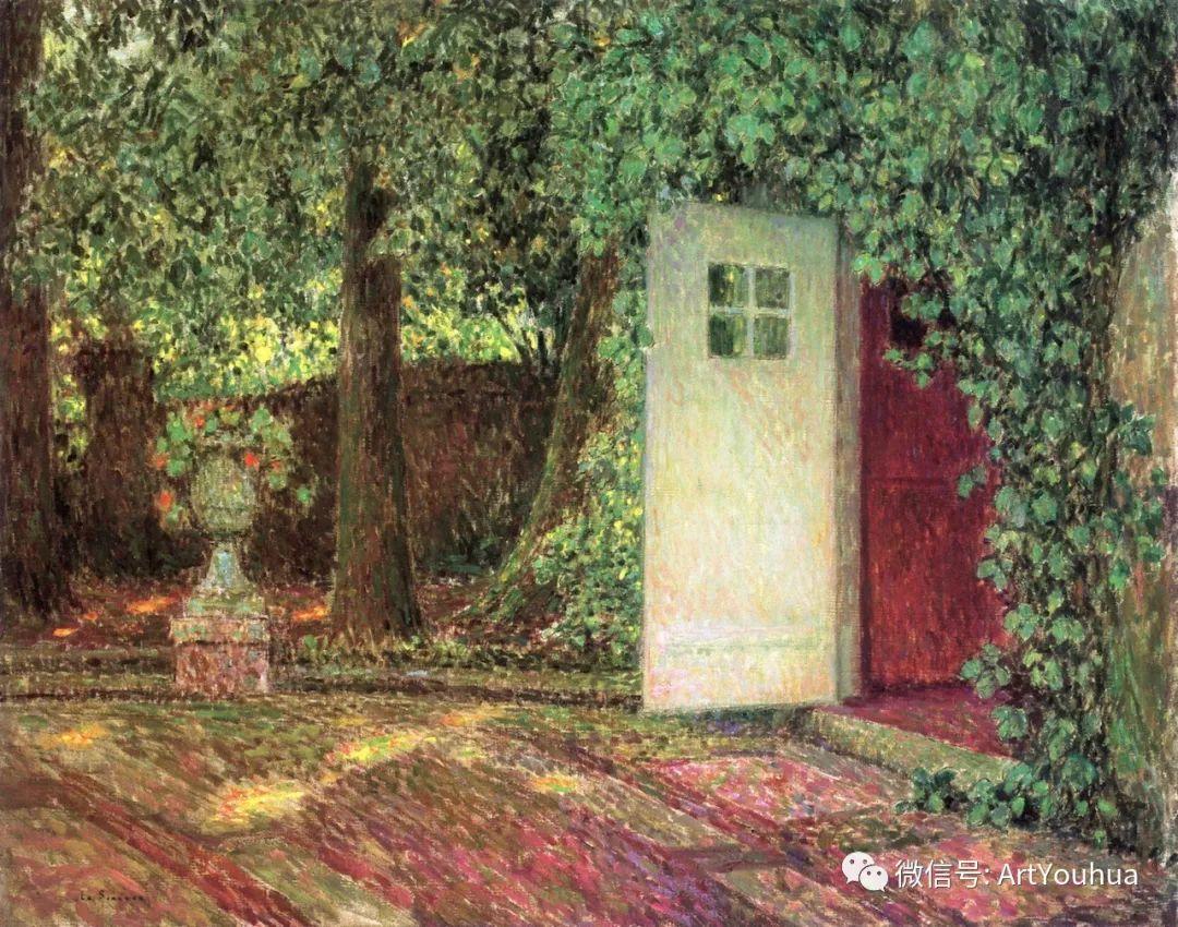他以印象派手法描绘安静街角和花园而闻名插图23