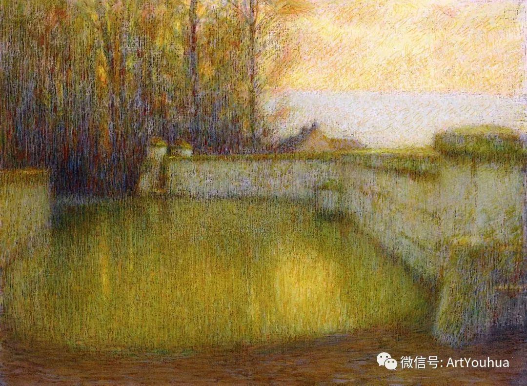他以印象派手法描绘安静街角和花园而闻名插图31