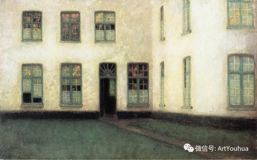 他以印象派手法描绘安静街角和花园而闻名插图42