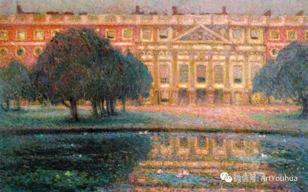 他以印象派手法描绘安静街角和花园而闻名插图43