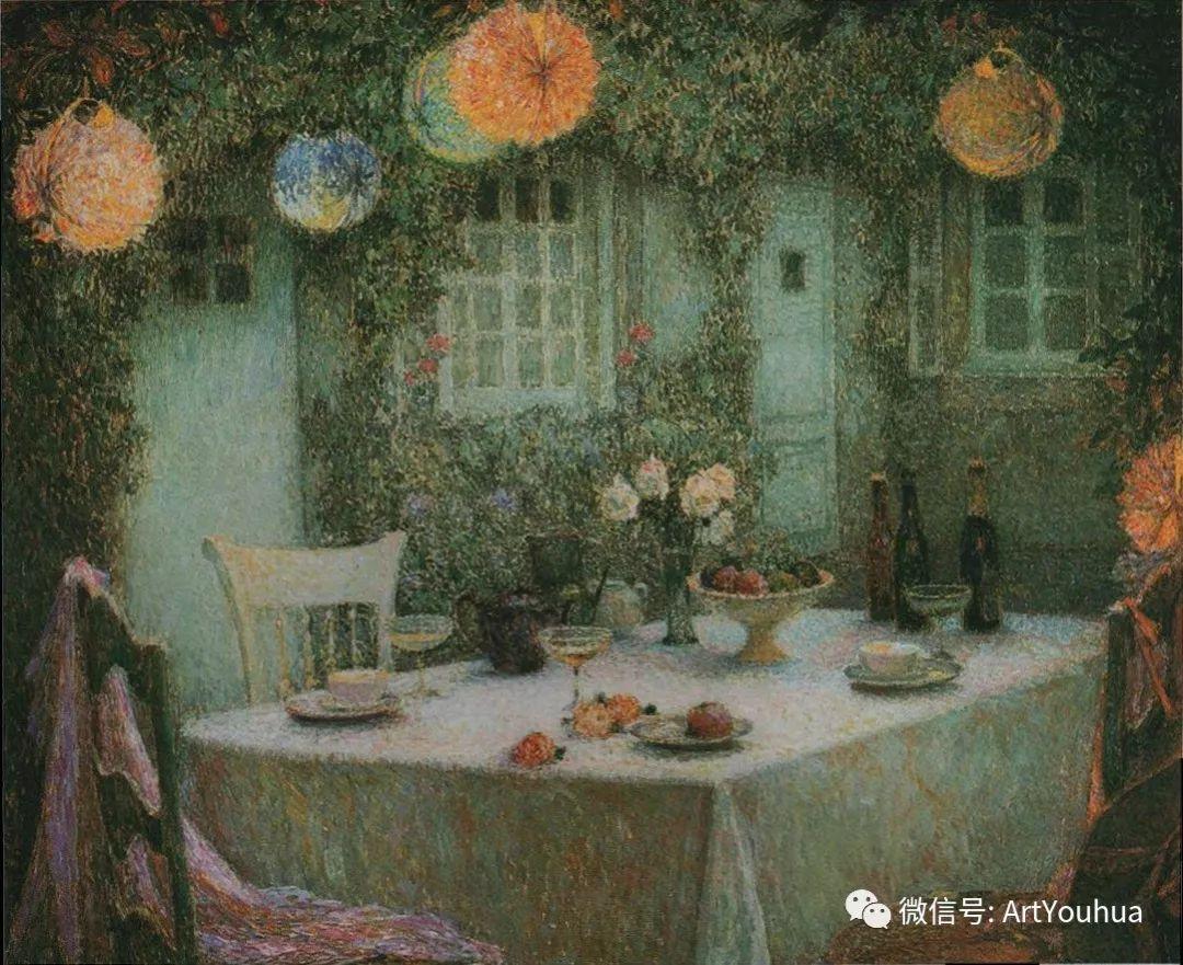 他以印象派手法描绘安静街角和花园而闻名插图44