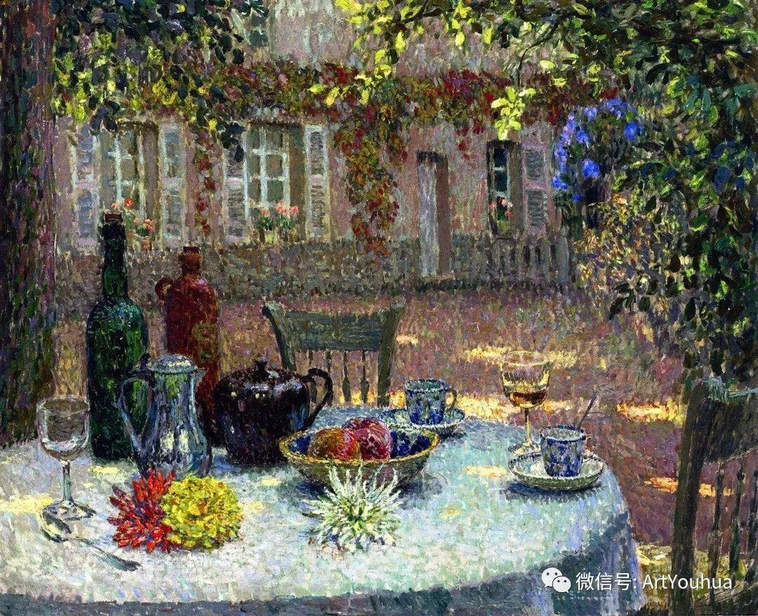 他以印象派手法描绘安静街角和花园而闻名插图45
