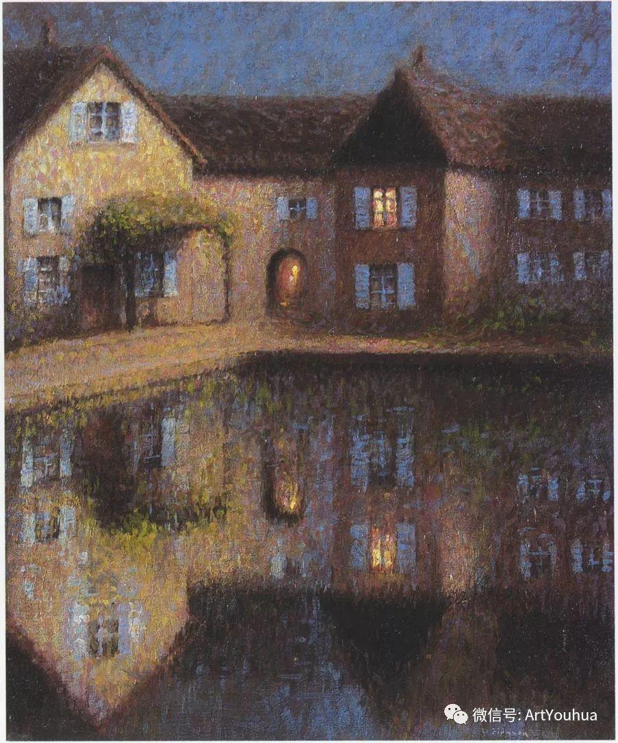 他以印象派手法描绘安静街角和花园而闻名插图47