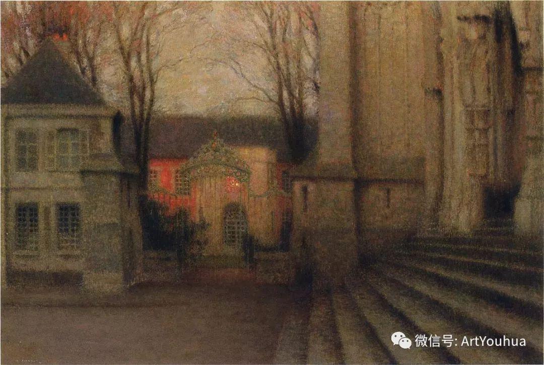 他以印象派手法描绘安静街角和花园而闻名插图48