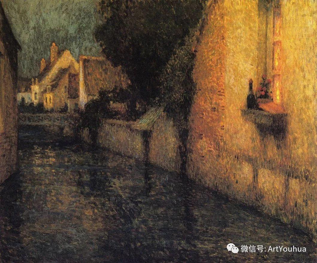 他以印象派手法描绘安静街角和花园而闻名插图49