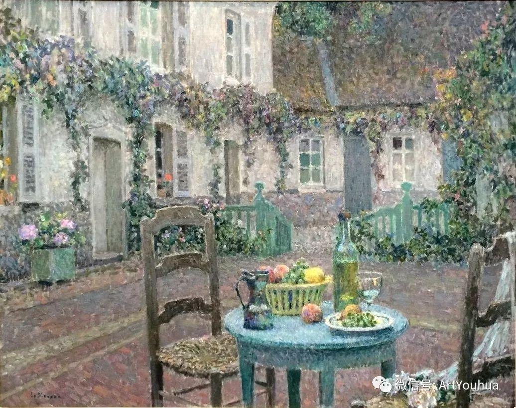 他以印象派手法描绘安静街角和花园而闻名插图50