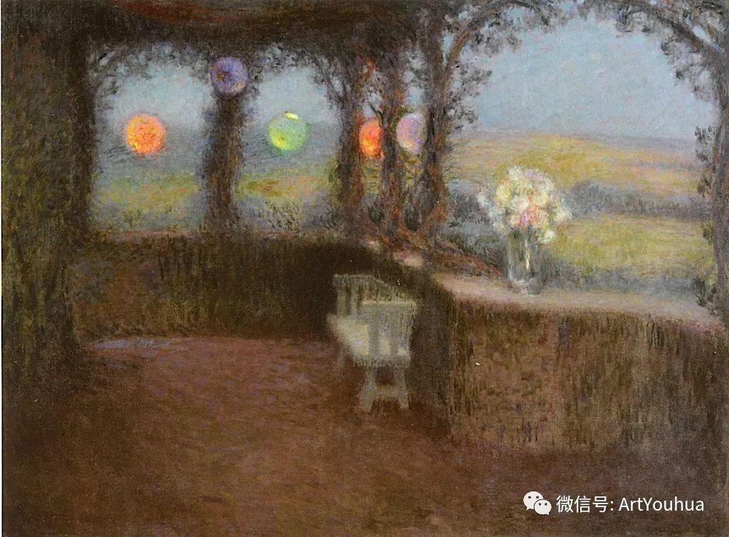 他以印象派手法描绘安静街角和花园而闻名插图51