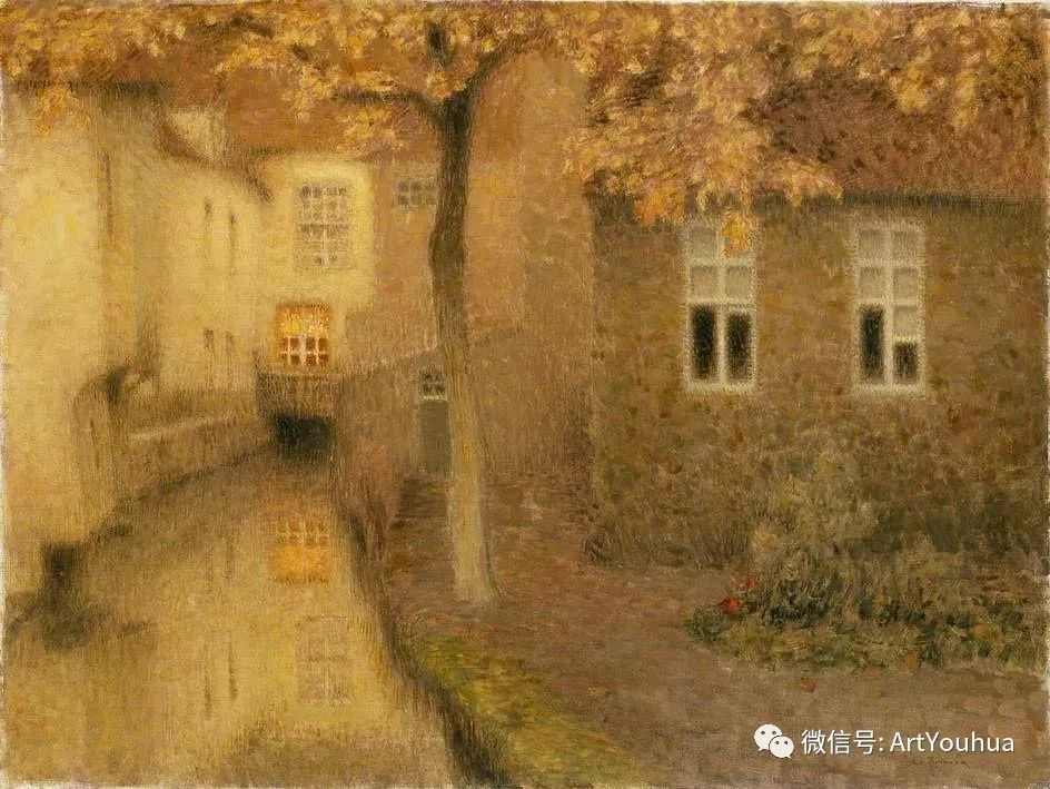 他以印象派手法描绘安静街角和花园而闻名插图59
