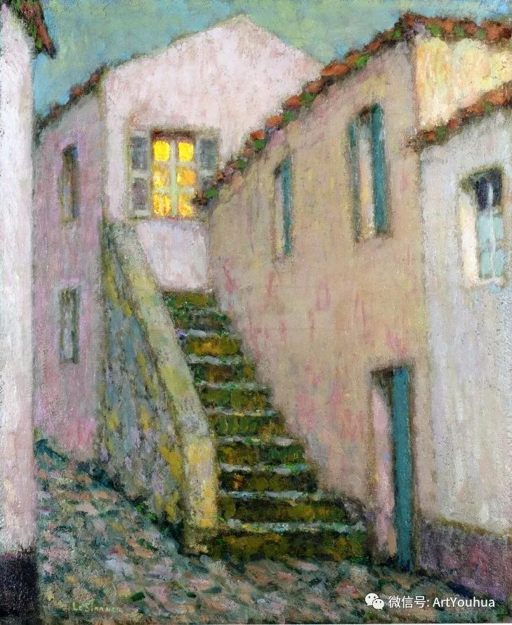 他以印象派手法描绘安静街角和花园而闻名插图61