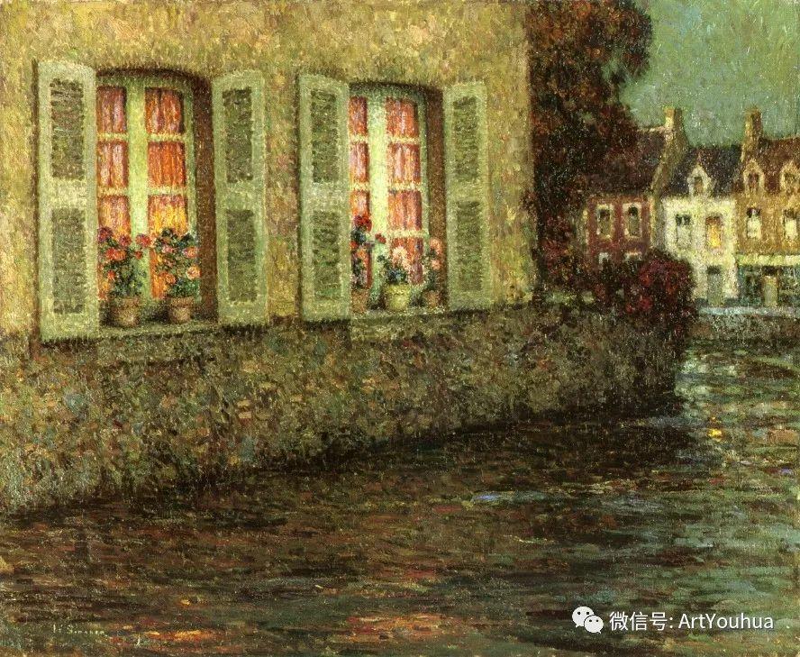 他以印象派手法描绘安静街角和花园而闻名插图62