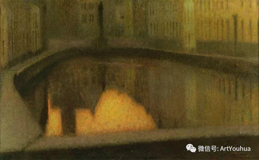 他以印象派手法描绘安静街角和花园而闻名插图67