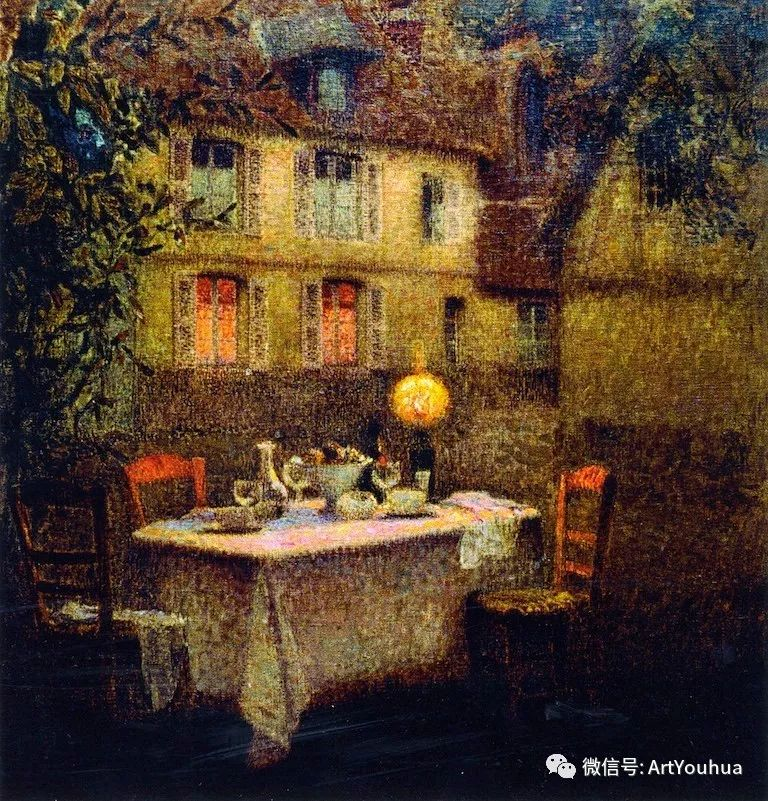 他以印象派手法描绘安静街角和花园而闻名插图68
