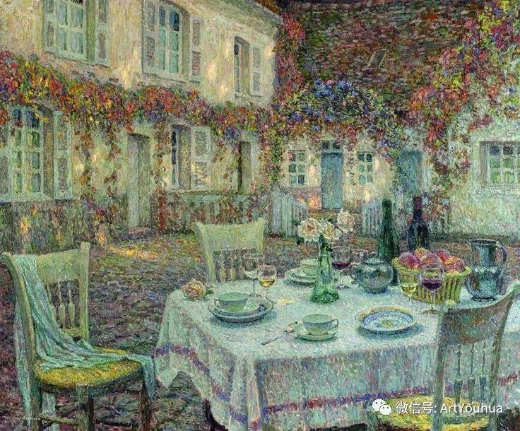他以印象派手法描绘安静街角和花园而闻名插图69