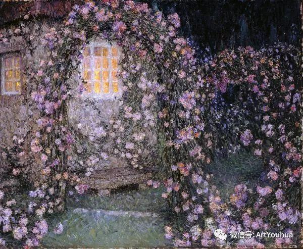 他以印象派手法描绘安静街角和花园而闻名插图70