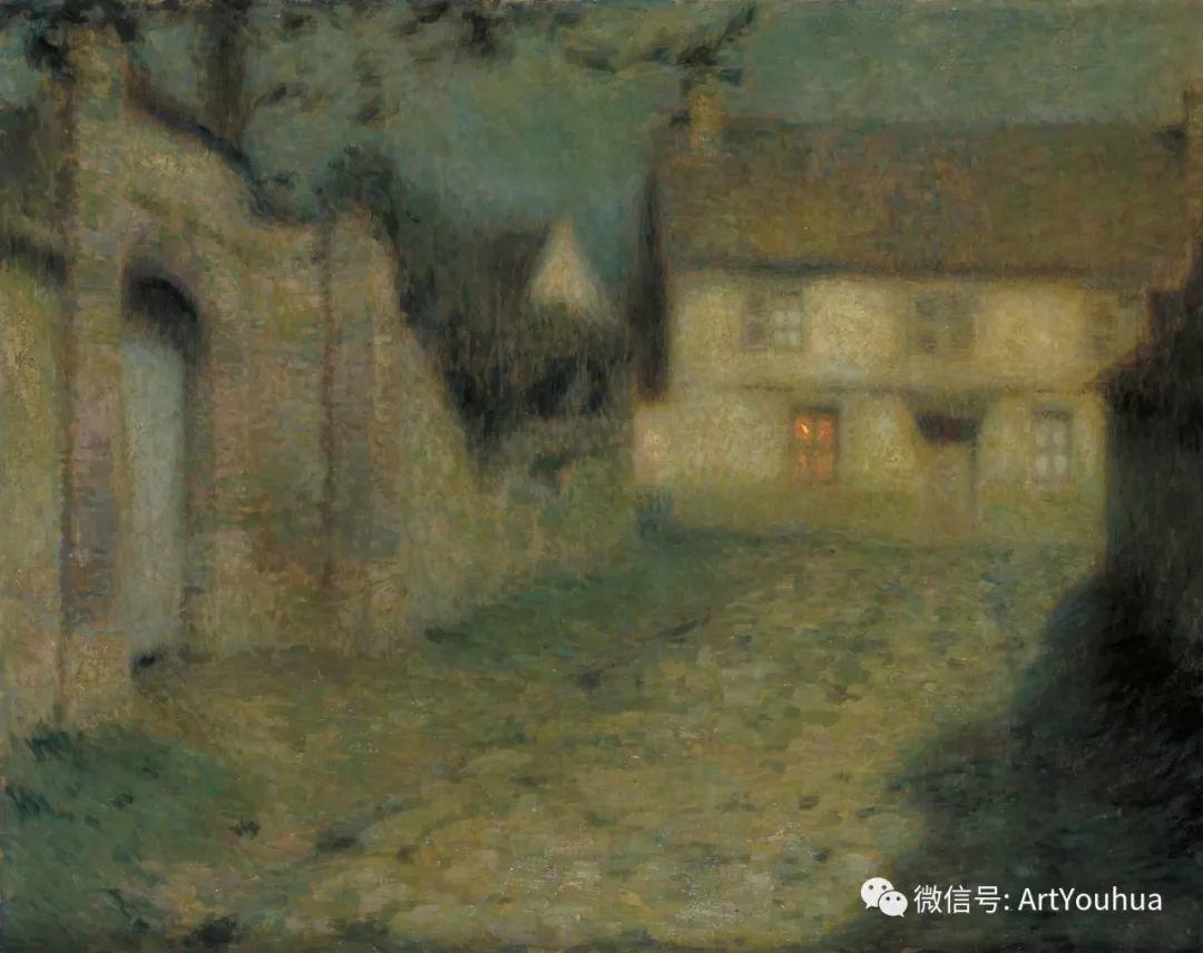他以印象派手法描绘安静街角和花园而闻名插图71