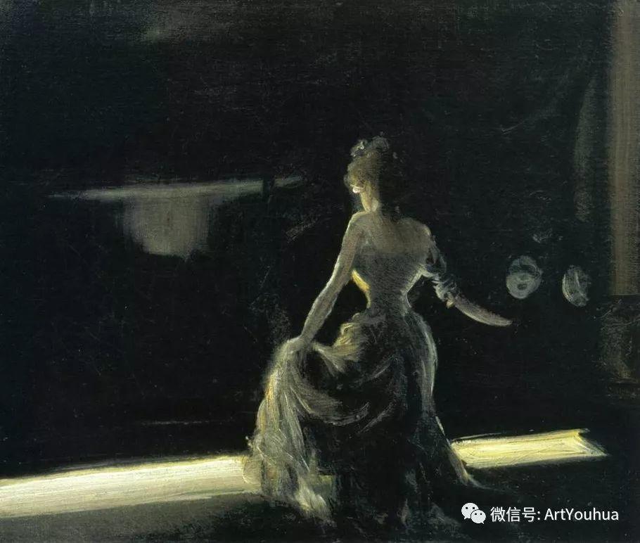 八人画派 美国画家Everett Shinn作品欣赏插图11