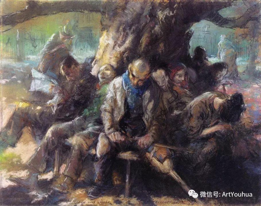 八人画派 美国画家Everett Shinn作品欣赏插图13