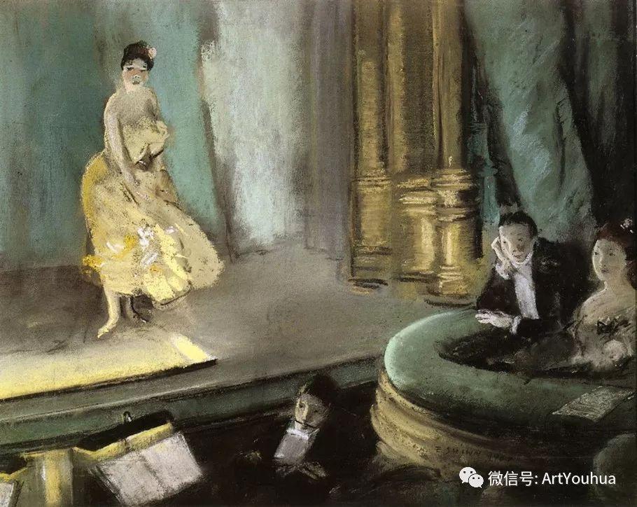 八人画派 美国画家Everett Shinn作品欣赏插图16