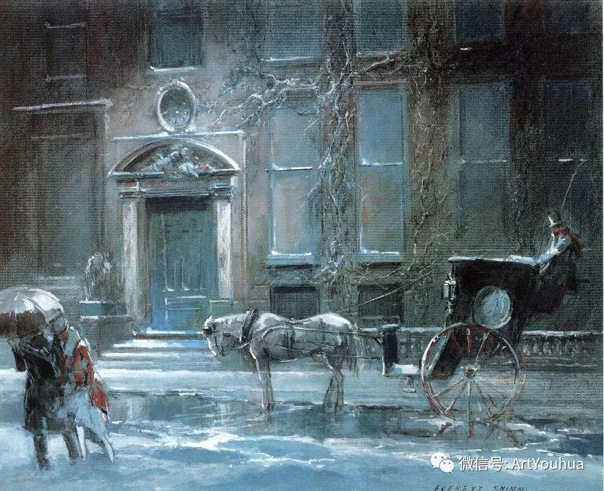 八人画派 美国画家Everett Shinn作品欣赏插图24