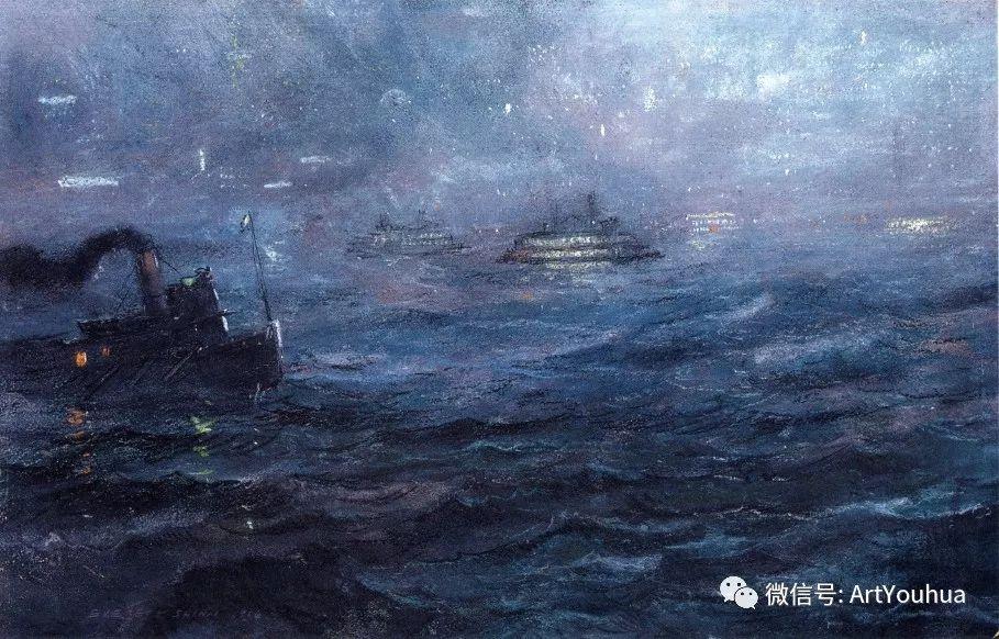 八人画派 美国画家Everett Shinn作品欣赏插图26