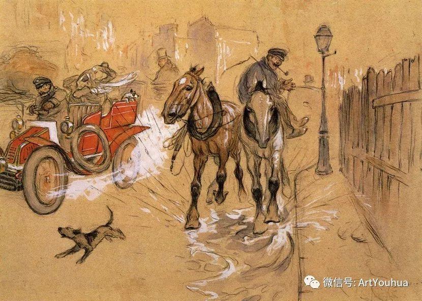 八人画派 美国画家Everett Shinn作品欣赏插图28