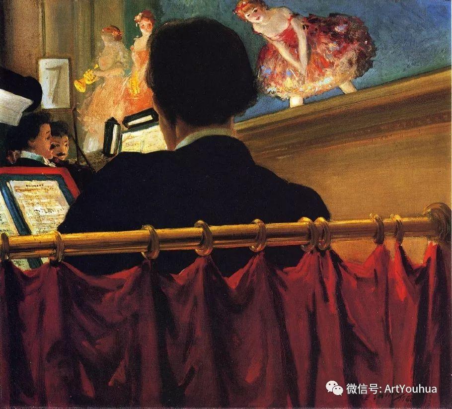 八人画派 美国画家Everett Shinn作品欣赏插图29