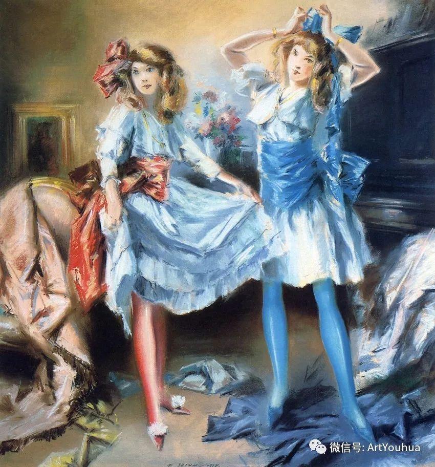八人画派 美国画家Everett Shinn作品欣赏插图32