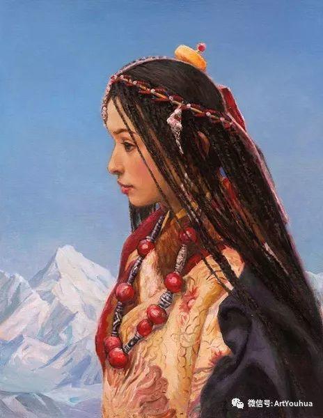 心灵的光泽——张祖英油画欣赏插图91