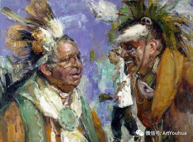 海外中国油画家·言师仲插图77