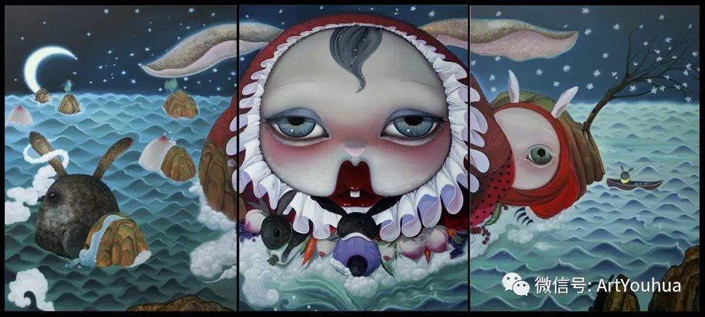 她作品经常挑战观者的现实视角插图99