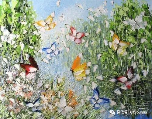花丛中的蝴蝶 白俄罗斯Dmitry Kustanovich插图63