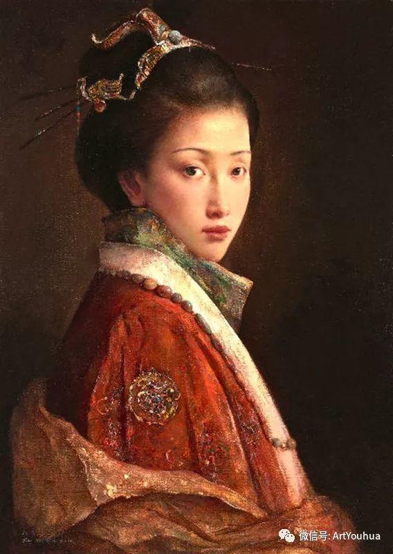 唐伟民少数民族肖像油画欣赏插图73