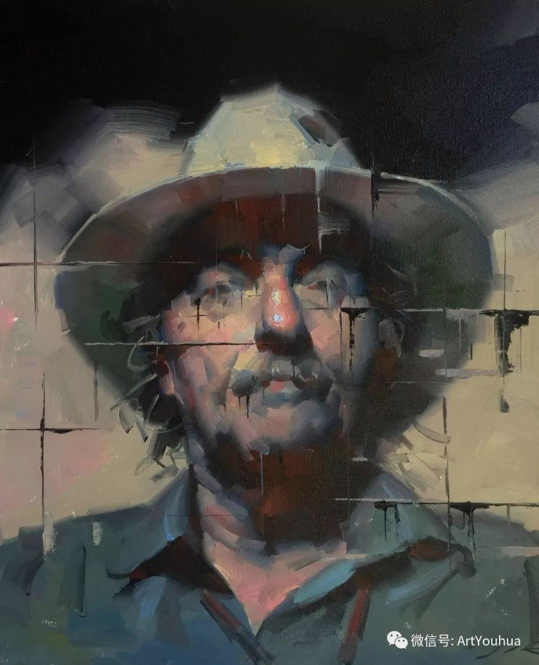 他的人物肖像绘画独具一格 还是位80后画家插图17